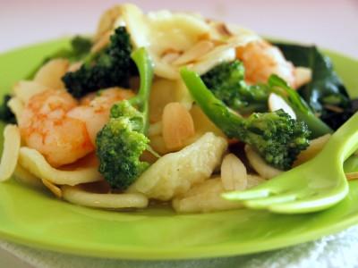gamberi-broccoli
