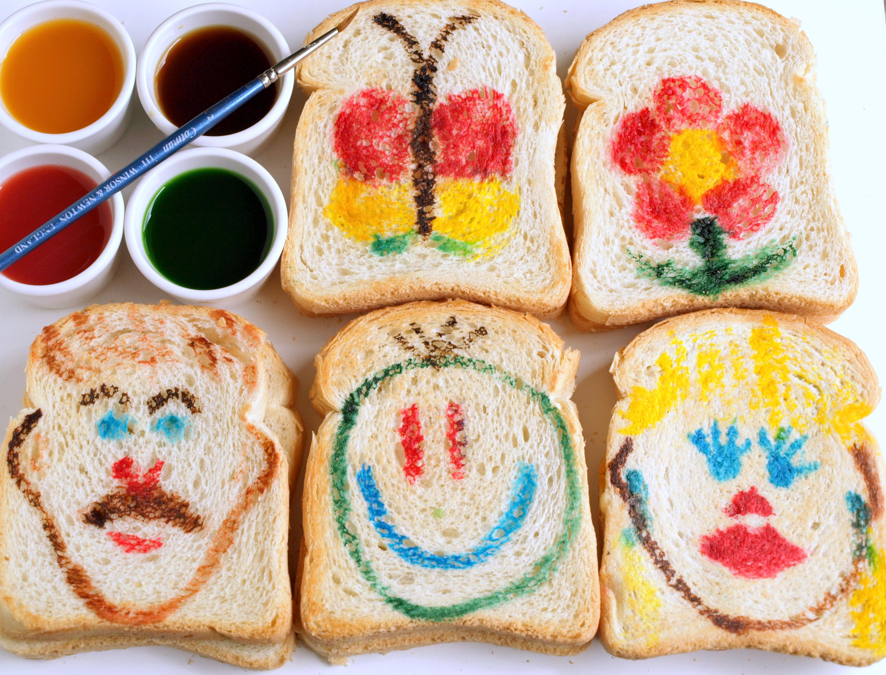 dipingere sui panini