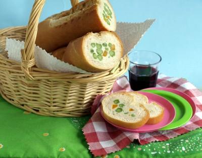 baguette-pollo
