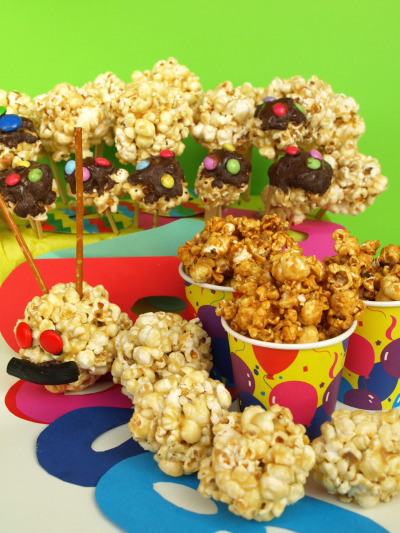 pop corn caramellatipn