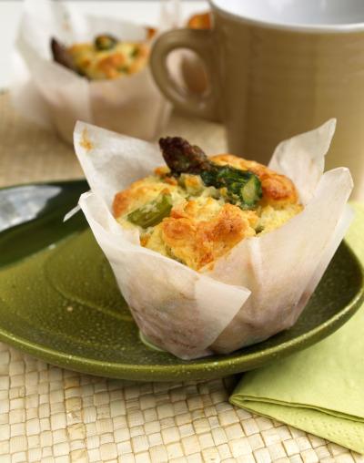 muffin agli asparagipn