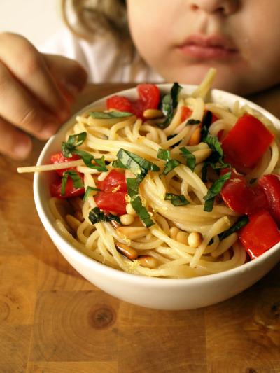 spaghetti estivi al limonepn