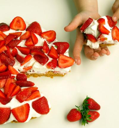 torta croccante di fragolepn