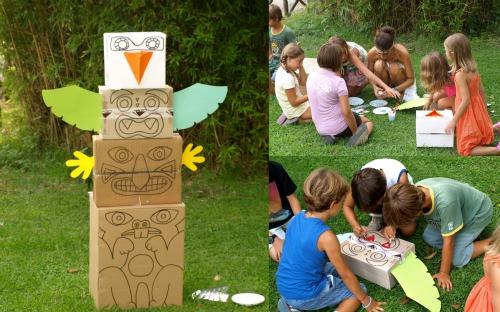 Festa di compleanno per bambini - Totem palo modelli per bambini ...
