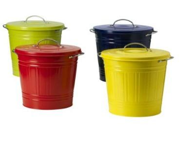 Idee per la raccolta differenziata for Ikea bidoni differenziata