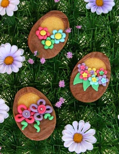 Biscotti decorati per Pasqua