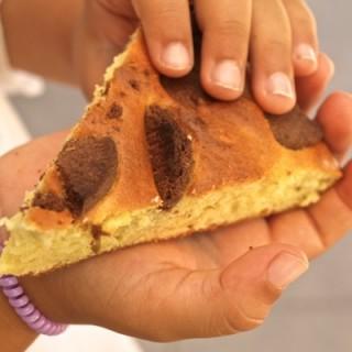 torta semplice con biscotti al cioccolato