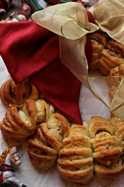 Ghirlanda di pane natale