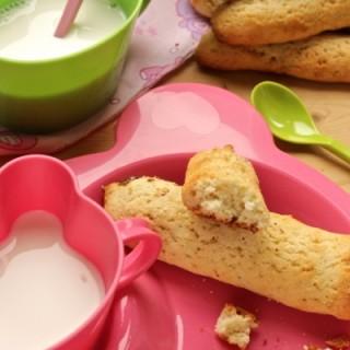 biscottoni latte e olio