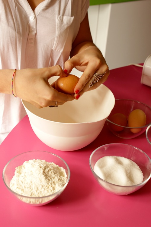 ricetta pan di spagna