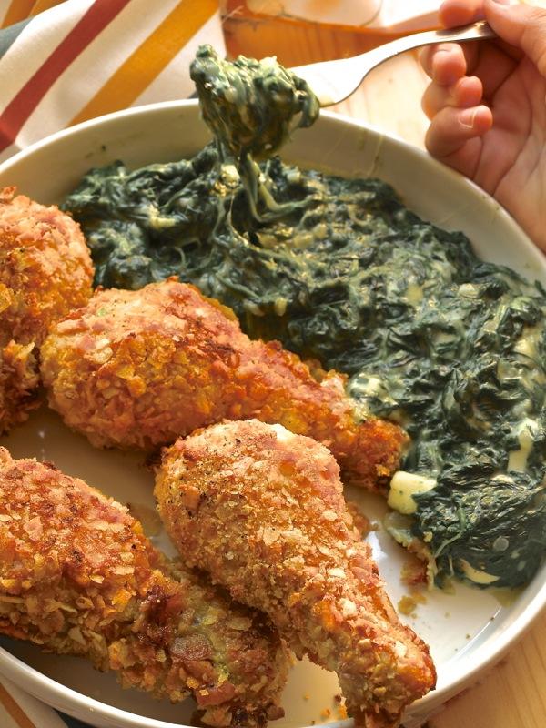 coscette di pollo croccanti al forno
