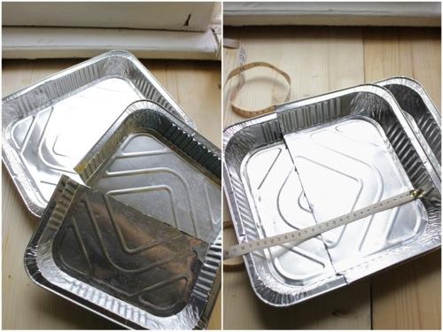 contenitore quadrato fatto in casa