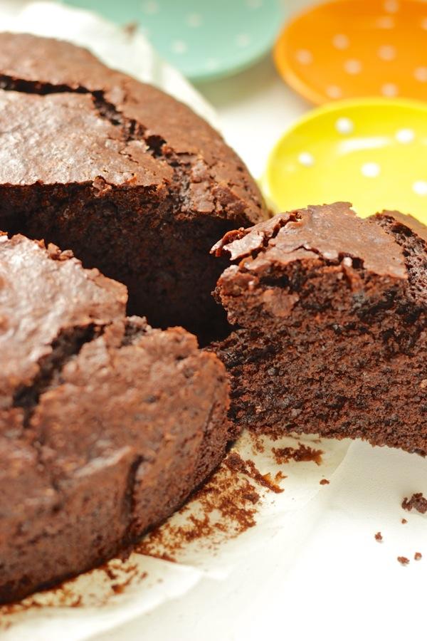 Torta Senza Uova Al Cioccolato.Torta Al Cioccolato Senza Pesare