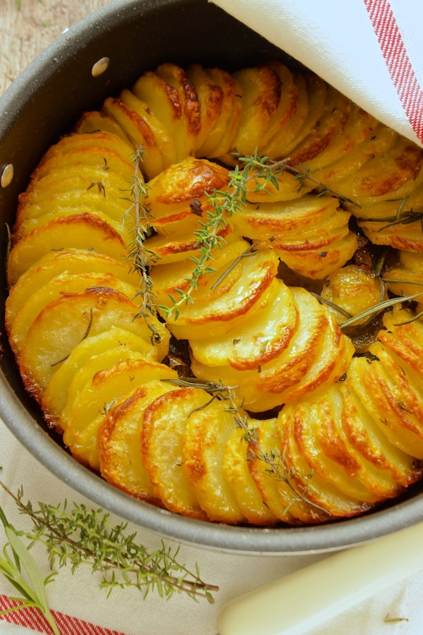 teglia di patate al forno