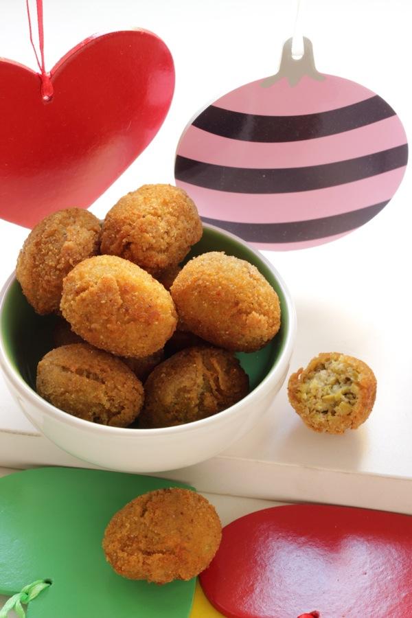 crocchette di olive senza carne