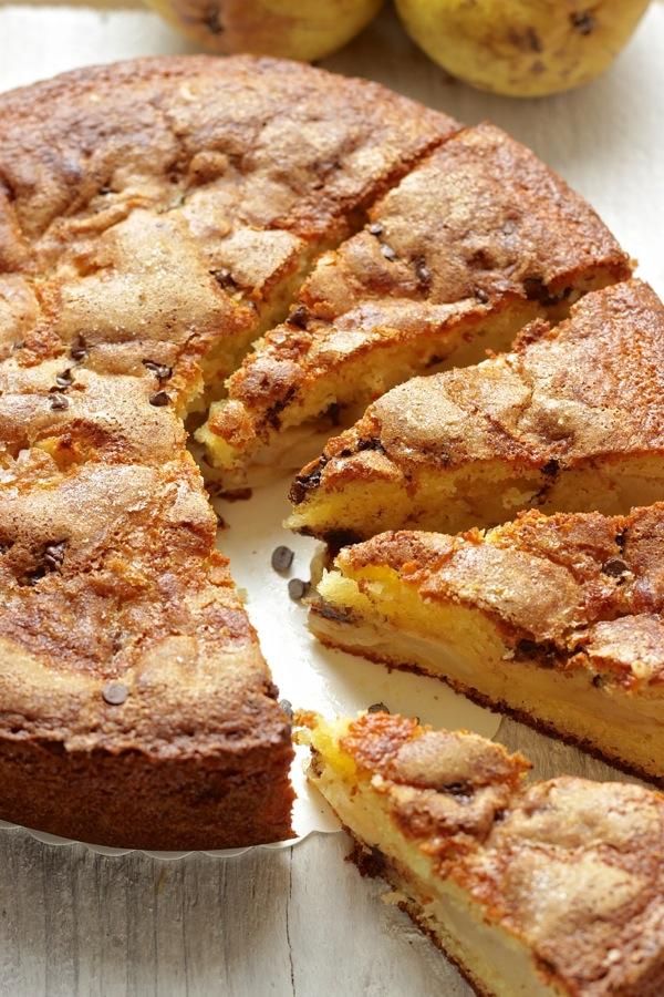 torta dolce allo stracchino