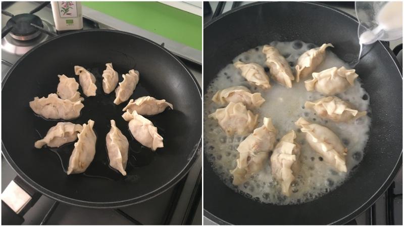 cuocere i gyoza