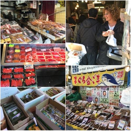 mercato del pesce giappone