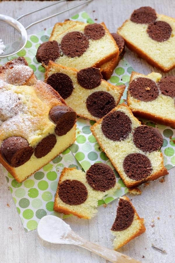 Plumcake a pois e divertirsi in cucina for Ricette per bimbi