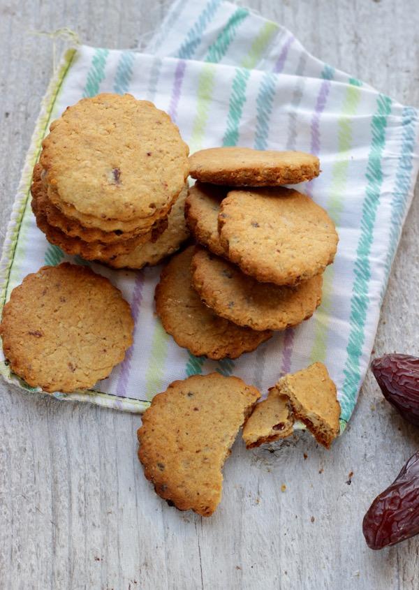 Preferenza Biscotti senza zucchero friabili e da inzuppare | Tempodicottura.it NT64