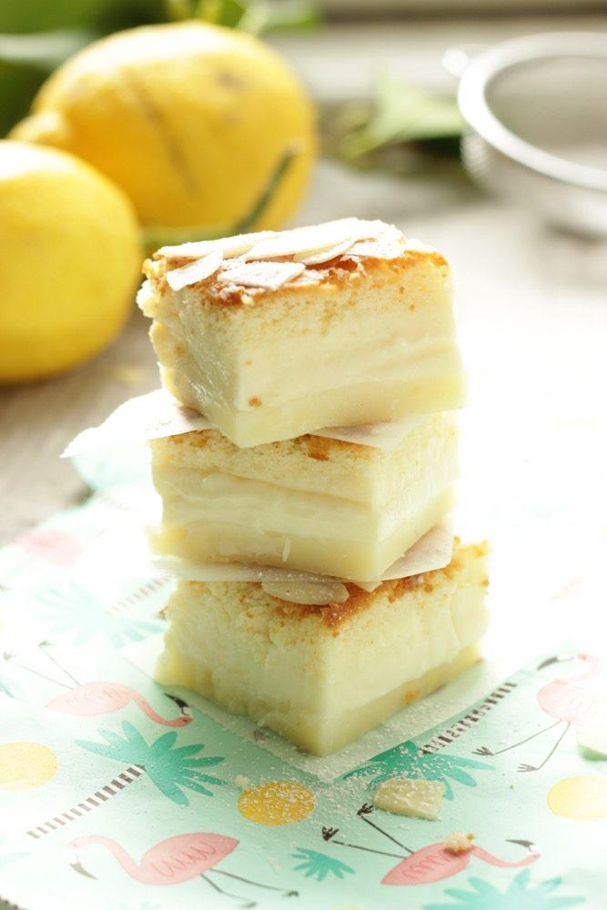 torta magica al limone