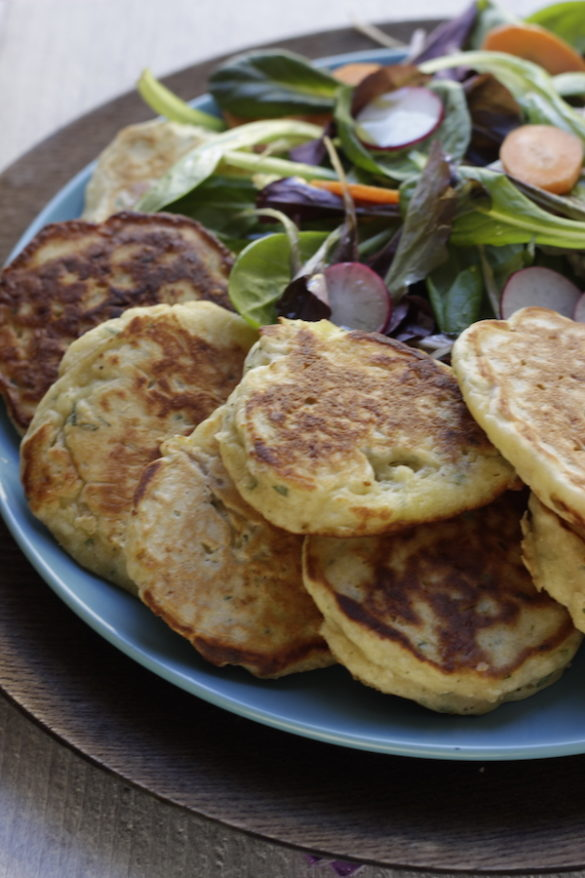 pancake di pollo