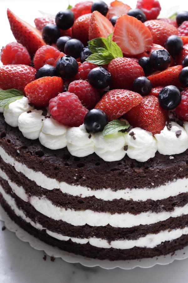 A La Prova Del Cuoco Torta In Padella Foresta Nera Con Frutti Di