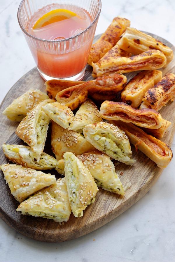 Salatini di pasta sfoglia veloci da aperitivo for Ricette pasta veloci