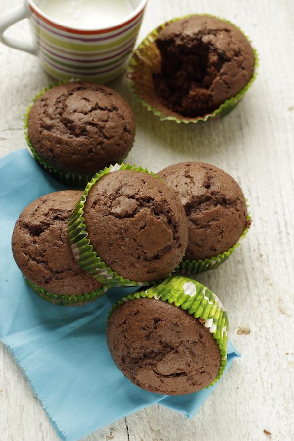 Dolci Facili E Veloci.Muffin Al Cacao