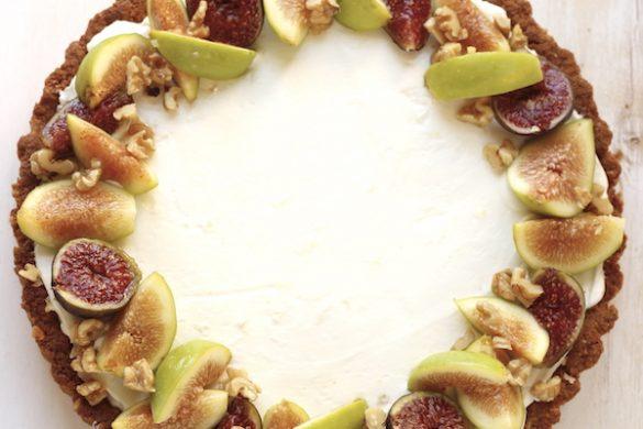 torta con fichi e crema